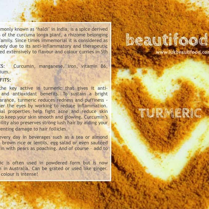 beauty benefits of turmeric beauty food turmeric luk beautifood