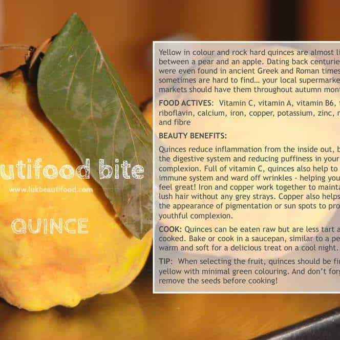beauty benefits of quince beauty food quince luk beautifood