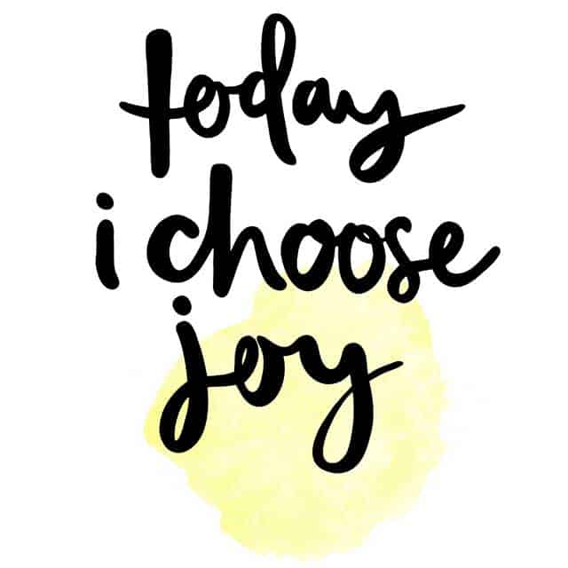 Monday Motivation: Choose Joy