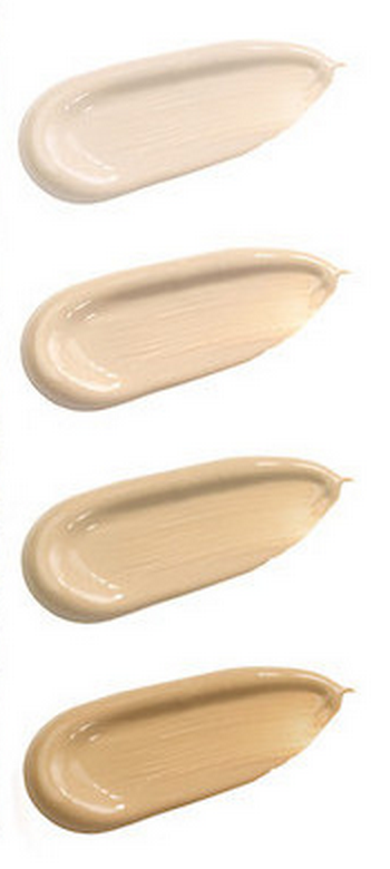 100% Pure foundation shades