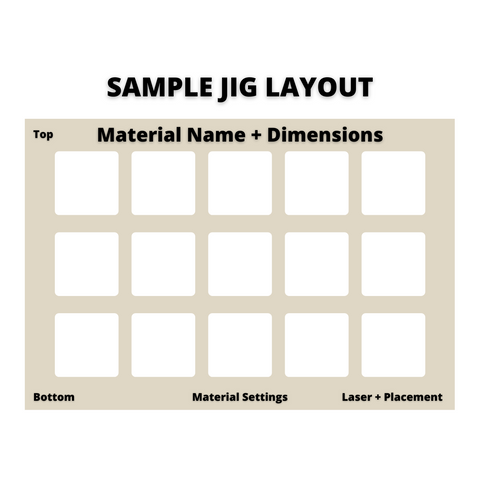 sample ji layout and template for laser cutting svg file