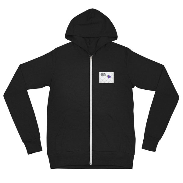 Stand Out Unisex zip hoodie