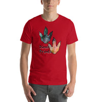 Dino Prints Short-Sleeve Unisex T-Shirt