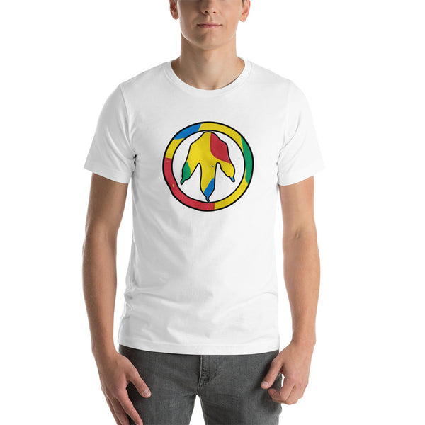 Autism Dino Peace Short-Sleeve Unisex T-Shirt