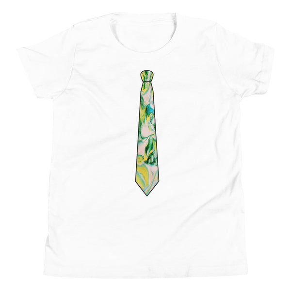 Dynamic Pour Tie Youth Short Sleeve T-Shirt