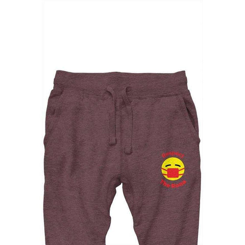 Respect The Rona:Respect The Rona Premium Jogger Pants