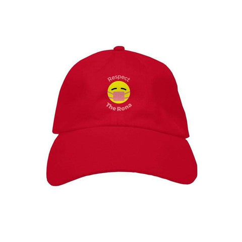 "Respect The Rona:Respect The Rona Premium ""Dad"" Hat (Pink)"