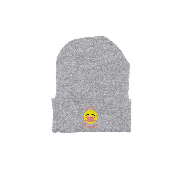 Respect The Rona:Respect The Rona Beanie Hat