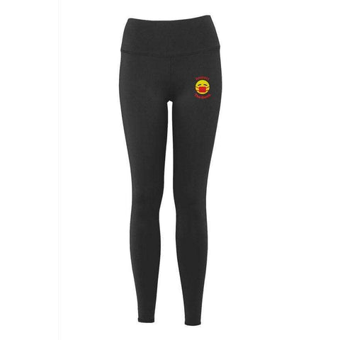 Respect The Rona:Respect The Rona Women's Sculpting Luxury Yoga Pants