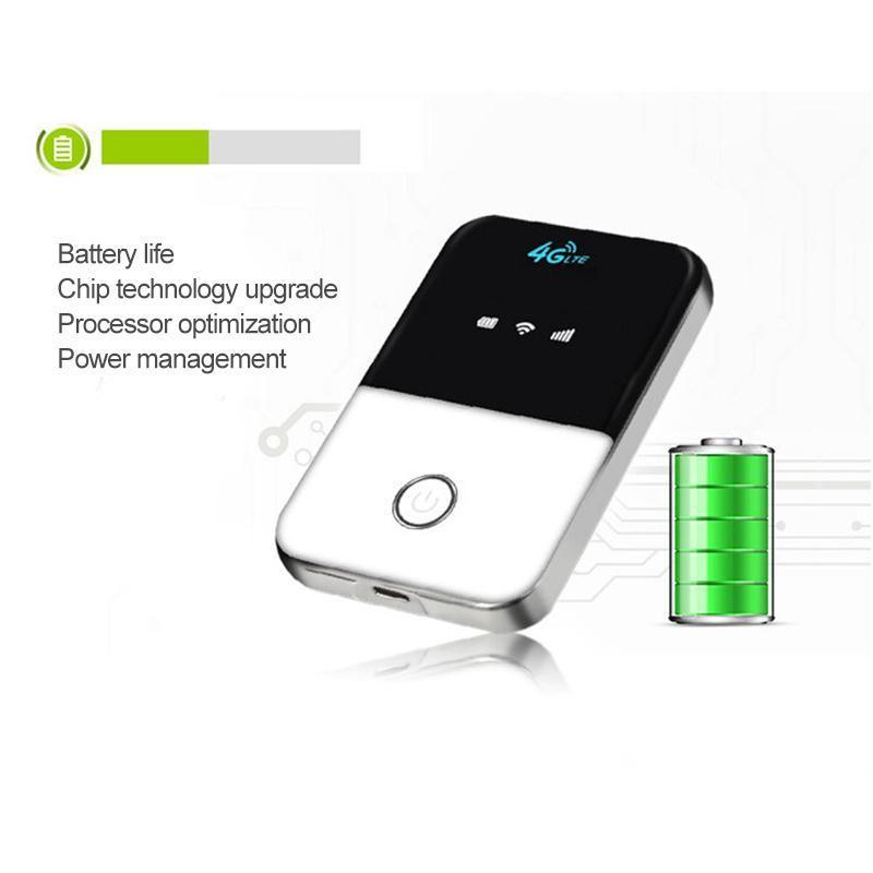 Global 4G-LTE FDD wireless portable Wifi router-US technology · Increase internet speed
