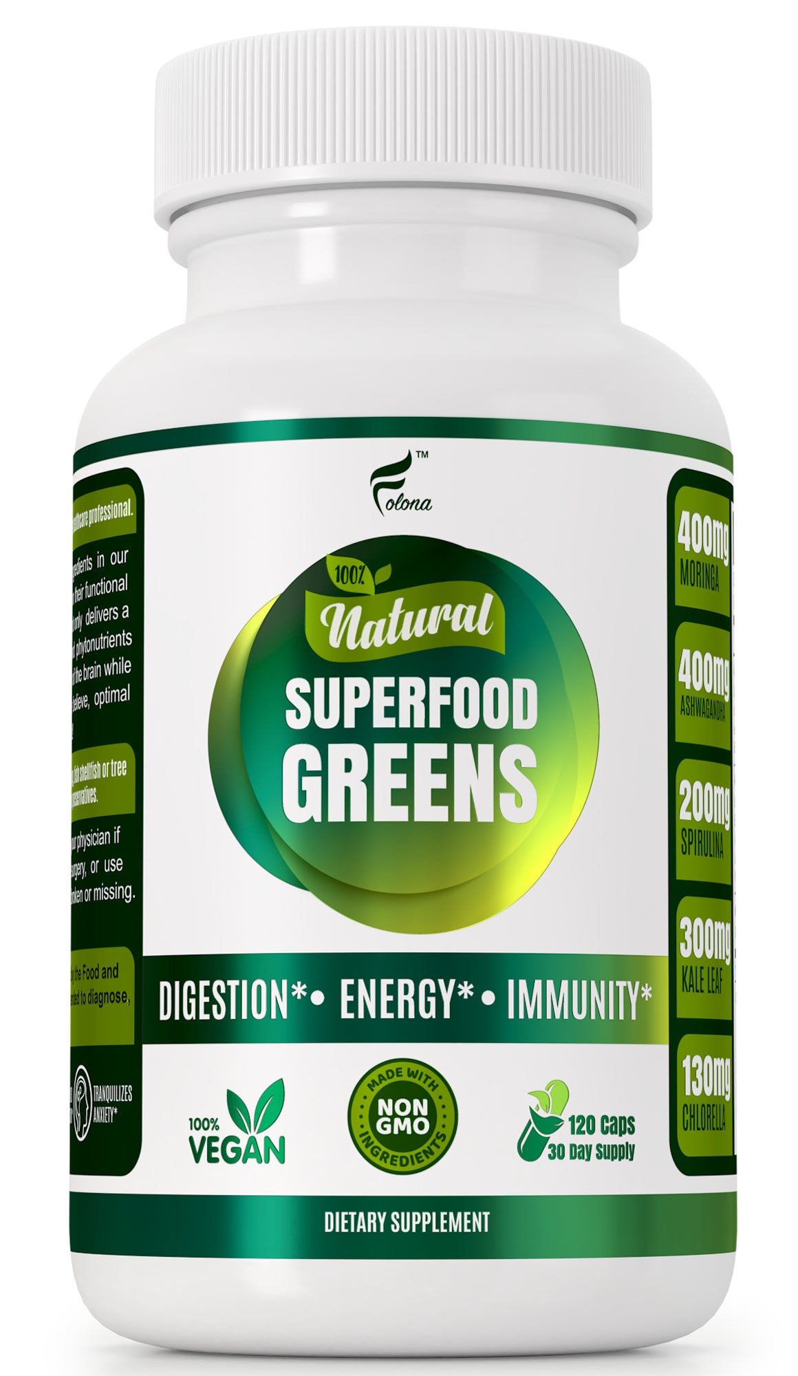 SuperFood Greens Capsules
