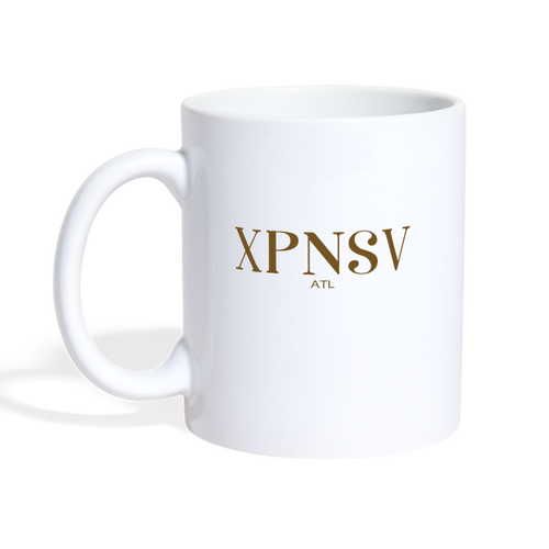 XPNSV Coffee/Tea Mug - white