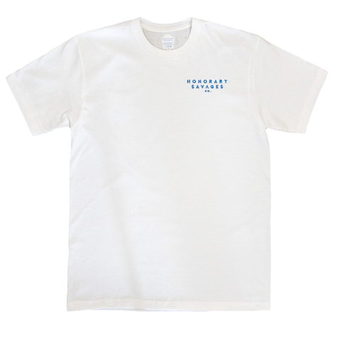 HS Embroidered Logo Tee - White