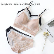 Copie de Sexy invisible bra set without steel ring