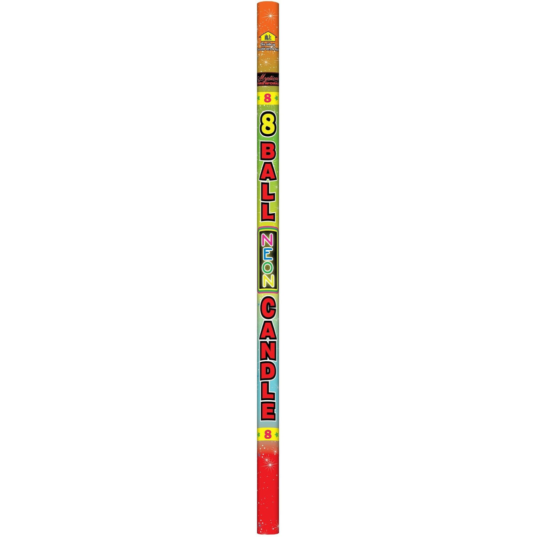 8 Ball Roman Candle