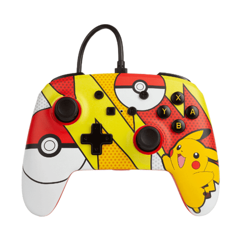 Power A Wired Nintendo Switch Controller Pikachu Pop Art