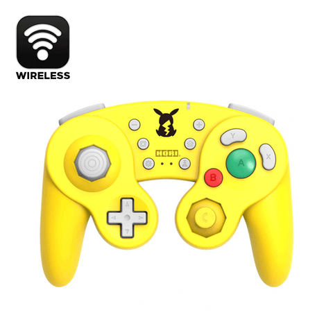 Hori NSW Wireless Classic Controller (Pikachu) For N-Switch (NSW-275A)
