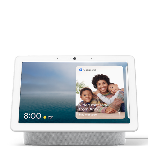Google Nest Hub Max Smart Home Display with Google Assistant