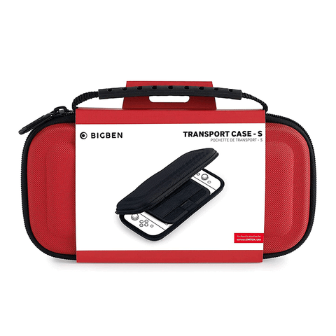Bigben Transport Case for Switch Lite - Red