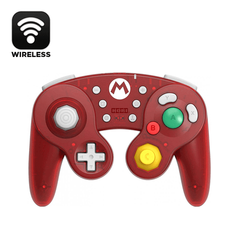 Hori NSW Wireless Classic Controller (Super Mario) For N-Switch (NSW-273A)