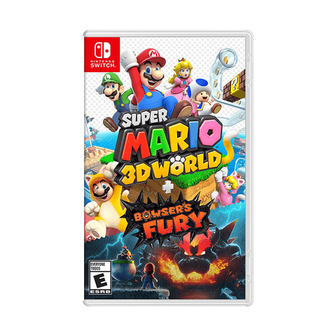 Super Mario 3D World + Bowser's Fury Nintendo Switch [Asi]