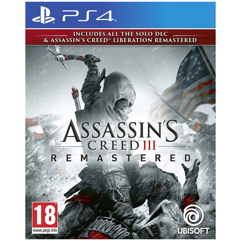 PS4 Assassins Creed 3: Remastered [R1]