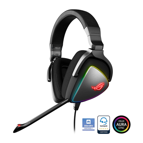 Asus ROG Delta 4 Full RGB Headset 7.1 Black