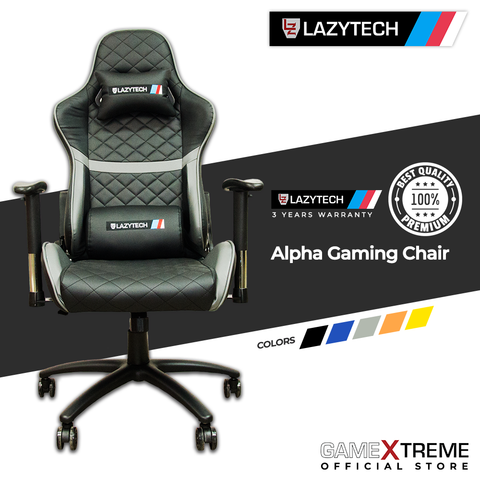Lazytech Alpha Gaming Chair Grey