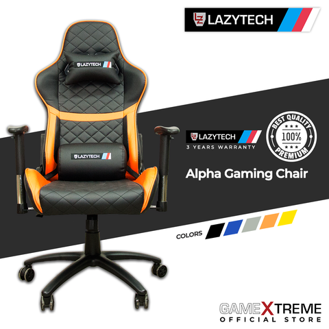 Lazytech Alpha Gaming Chair Orange