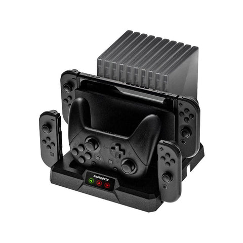 NSW Snakebyte Dual Charge Base S For Switch