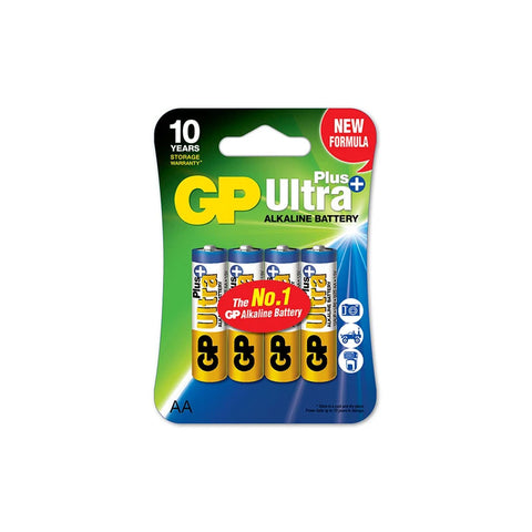 GP Ultra Plus Alkaline AA 4S  (GP15AUP-2L4)