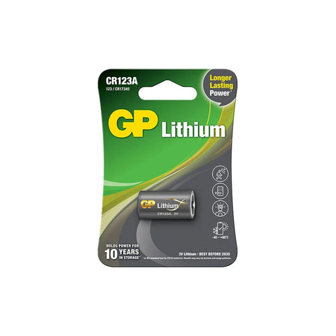 GP Photo Battery CR123A 1S (Card) (GPCR123A-2U1)