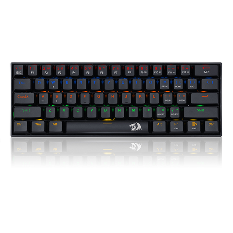 Redragon Mechanical Gaming Keyboard Lakshmi K606 - Red Switches