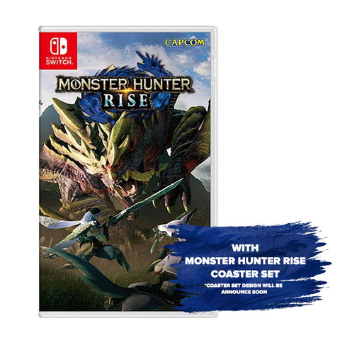 Monster Hunter Rise with Coaster Set- Pre-Order Downpayment