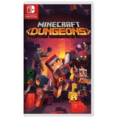 Minecraft Dungeon Hero Edition - Nintendo Switch [Asian]