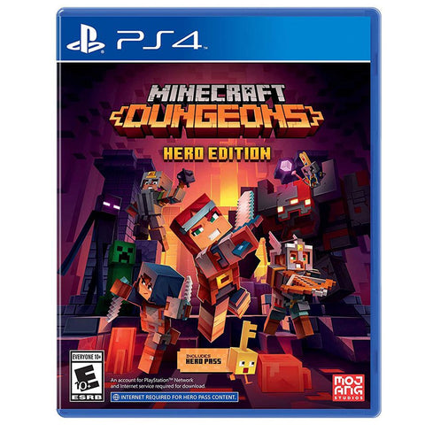 Minecraft Dungeon Hero Edition - Playstation 4 [R2]