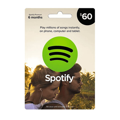 Spotify Gift Digital Code 60$