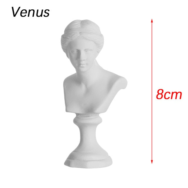 VIcult Greek Mythology Figurine Mini Plaster Bust