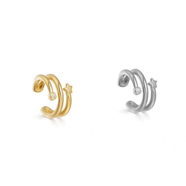 VIcult Pearl Ear Cuff Bohemia Stackable C Shaped