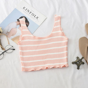 VIcult Square Neck Crop Top