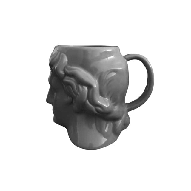 VIcult Ceramic David Head Mug Ancient Greek