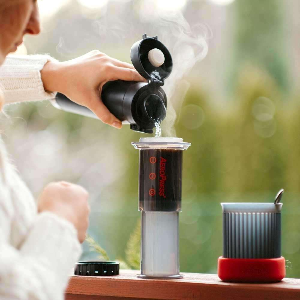 buy coffee brewing gear aeropress go coffee maker