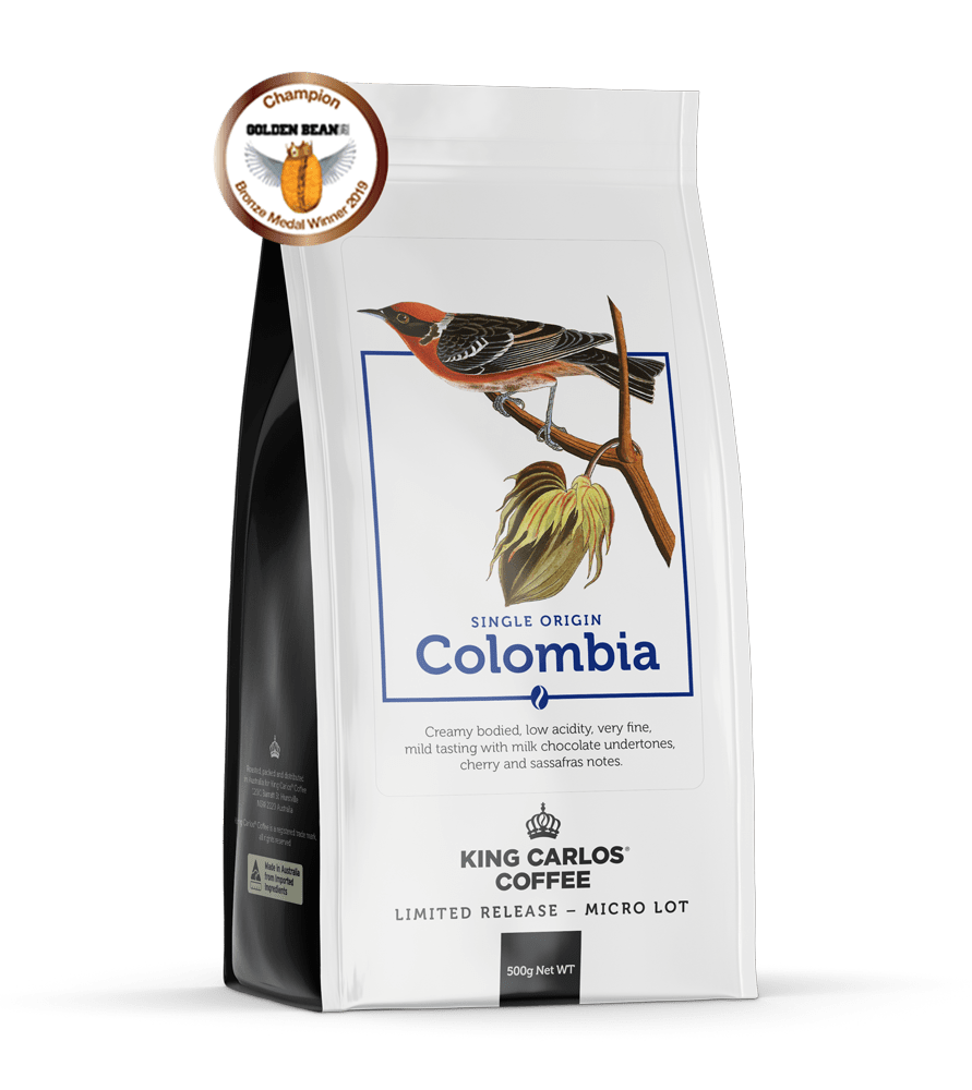 buy coffee beans Colombia single origin coffee