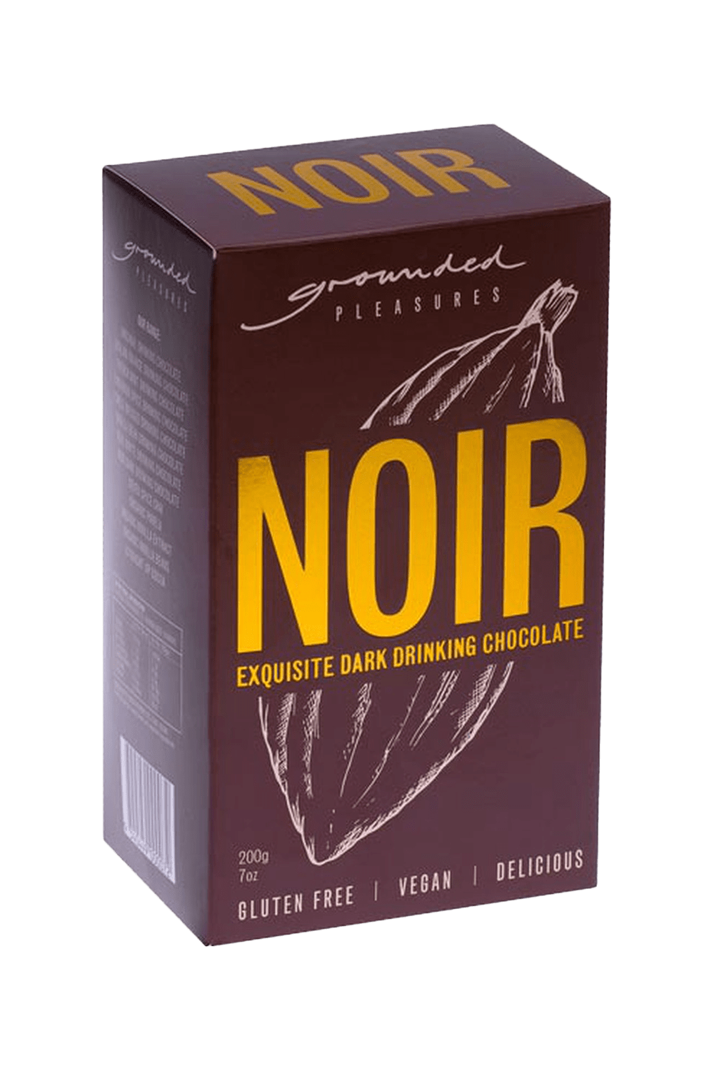 buy cafe products grounded pleasures drinking chocolate noir dark
