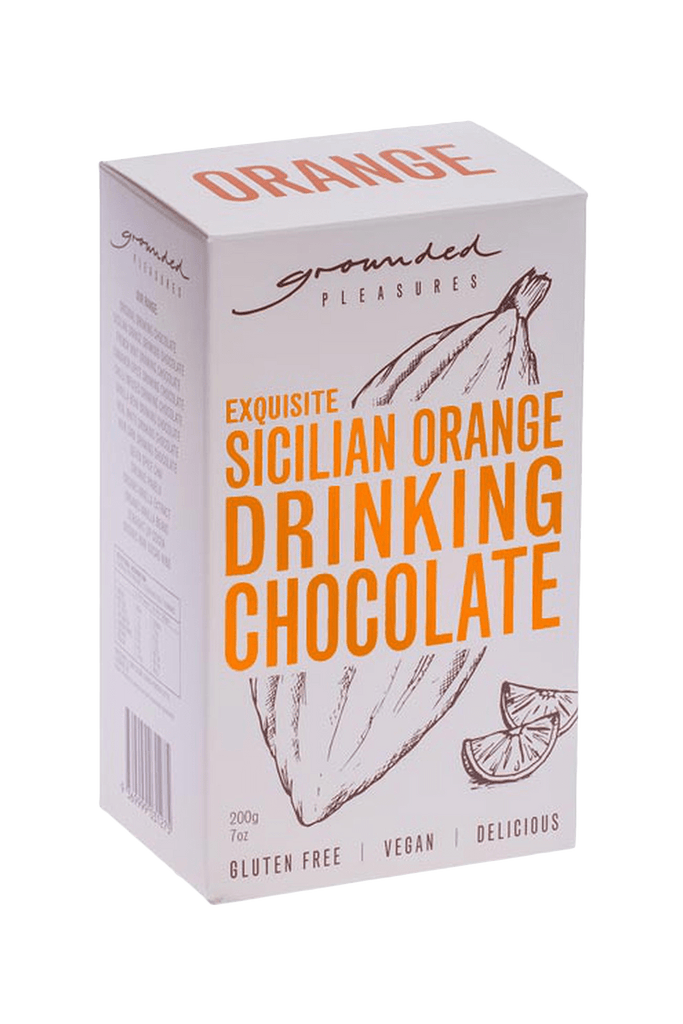 buy cafe products grounded pleasures drinking chocolate SICILIAN orange drinking chocolate
