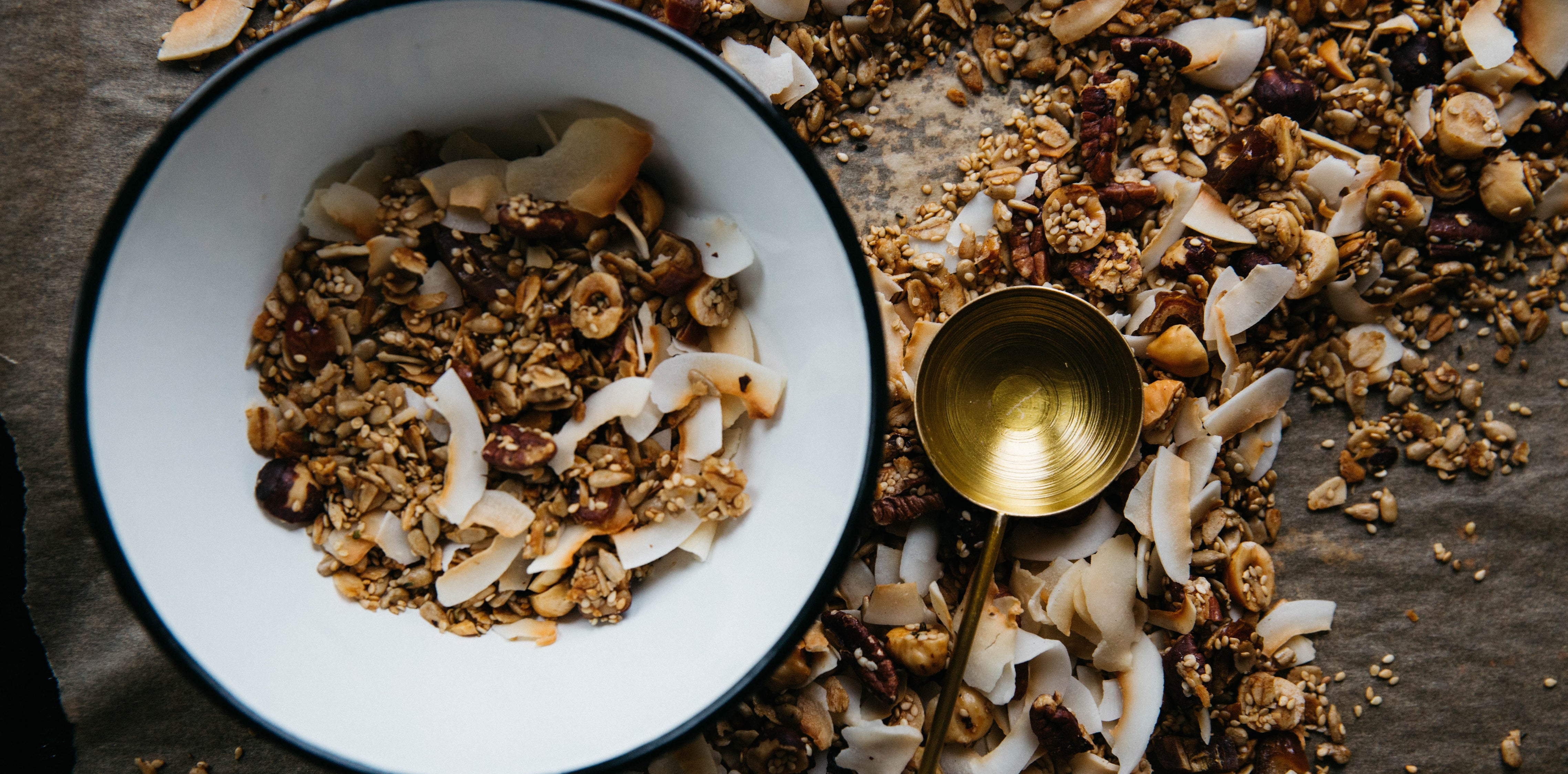 Bircher Muesli with Caramelised Pear