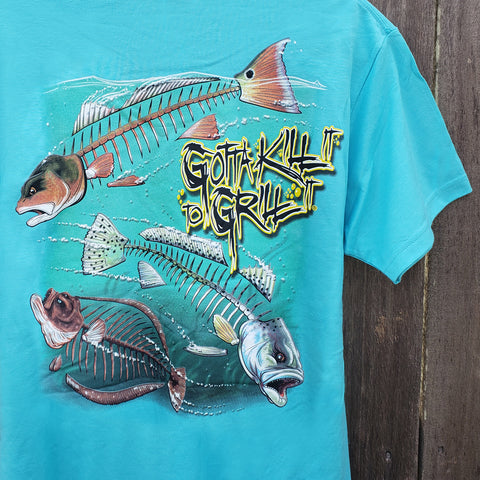 Redfish Pocket Tee