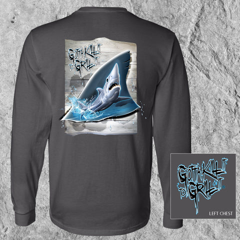 Shark Tail Long Sleeve Tee
