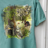 Father Child Turkey Hunt Tee
