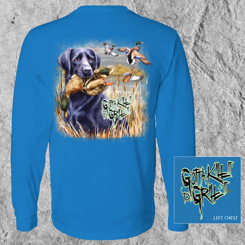 Labrador Duck Long Sleeve Tee